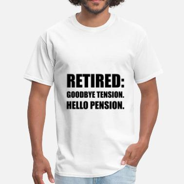 Tension Retired Goodbye Tension - Men's T-Shirt