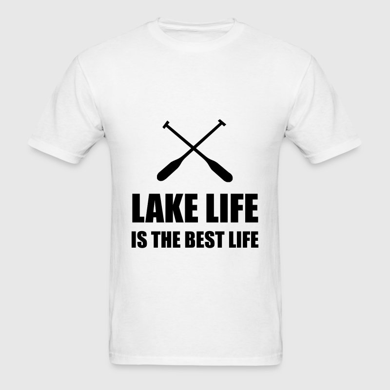 Lake Life Best Life - Men's T-Shirt