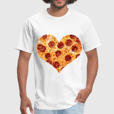 Pizza And Beer love pizza - Men's T-Shirt