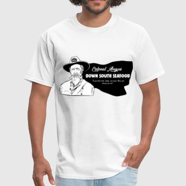 Colonel Angus Down South Seafood - Men's T-Shirt