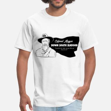 Colonel Colonel Angus Down South Seafood - Men's T-Shirt