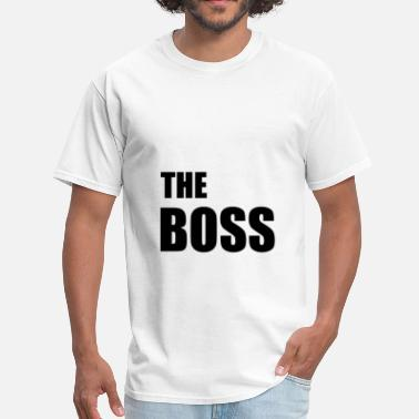 Couples Relationship The Boss Couples Relationship - Men's T-Shirt