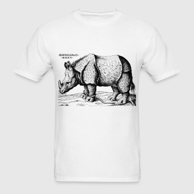 Albrecht Durer - Rhinoceros - Men's T-Shirt