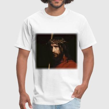 Bloch carl_heinrich_bloch__christ_detail - Men's T-Shirt