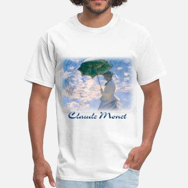 Promenade claude_monet__the_promenade_detail - Men's T-Shirt