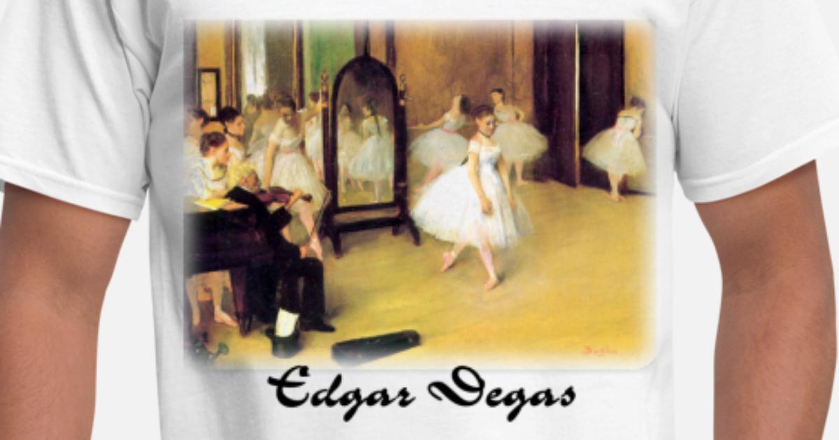 988146775254 edgar degas  dance class Men s T-Shirt