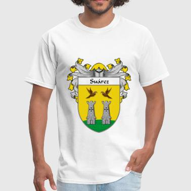 Family Crest Spain Suárez Coat of Arms/Family Crest - Men's T-Shirt