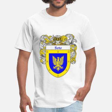 Apellido soto_coat_of_arms_mantled - Men's T-Shirt
