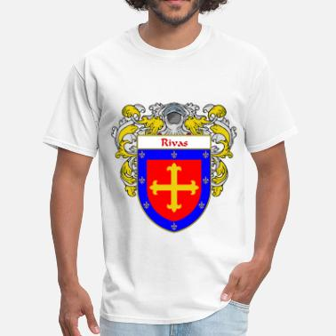 Apellido rivas_coat_of_arms_mantled - Men's T-Shirt