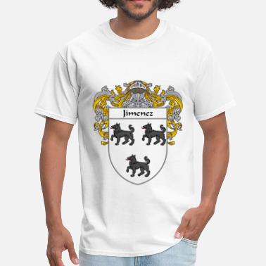 Jimenez jimenez_coat_of_arms_mantled - Men's T-Shirt