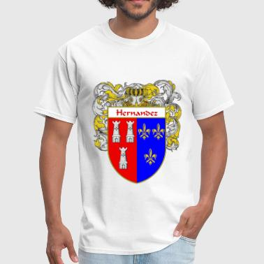hernandez_coat_of_arms_mantled - Men's T-Shirt