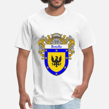 Apellido botello_coat_of_arms_mantled - Men's T-Shirt
