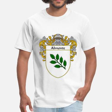 Apellido almonte_coat_of_arms_mantled - Men's T-Shirt
