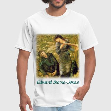 edward_burnejones__merlin - Men's T-Shirt
