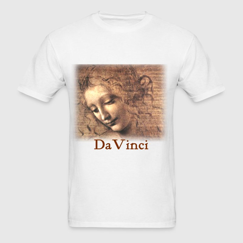 leonardo_davinci__woman - Men's T-Shirt