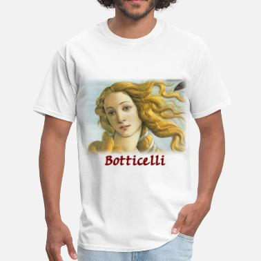 Venus sandro_botticelli__venus_detail - Men's T-Shirt