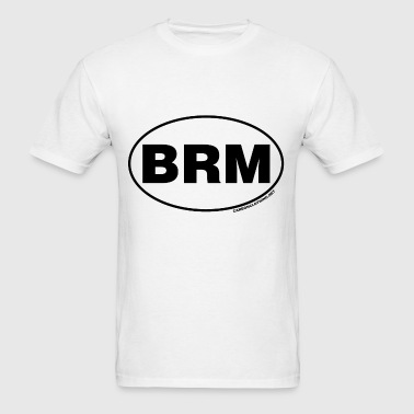 BRM Blue Ridge Mountains - Men's T-Shirt