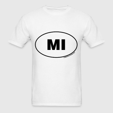 MI Michigan - Men's T-Shirt