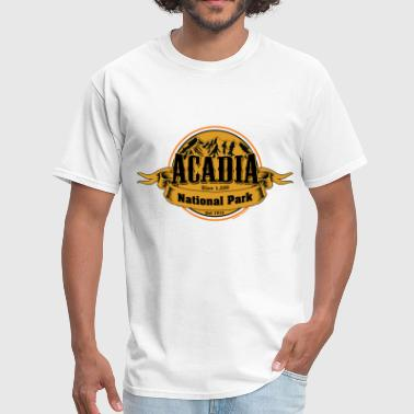 Acadia National Park Maine Acadia Yellow National Park - Men's T-Shirt