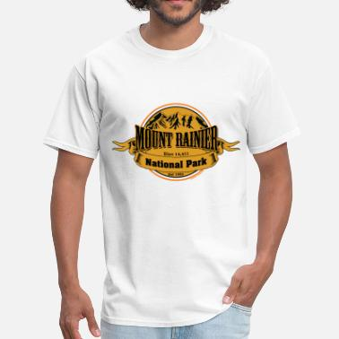 Mount Rainier Mount Rainier National Park - Men's T-Shirt