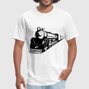 Steam Train Train Oncoming - Men's T-Shirt