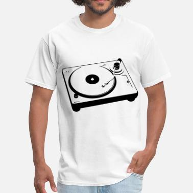 Turntablism Turntable - Men's T-Shirt