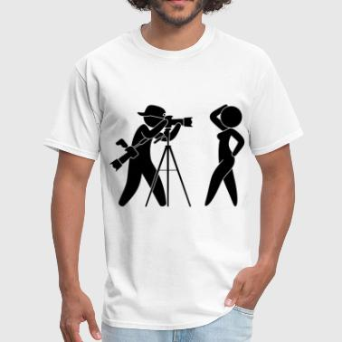 Photographer Photographer (dd)++2014 - Men's T-Shirt