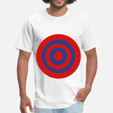 Red Ska Bullseye - Men's T-Shirt