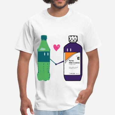 Cartoon Rapper syrup love - Men's T-Shirt