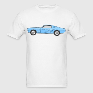 VERY BLUE - Men's T-Shirt