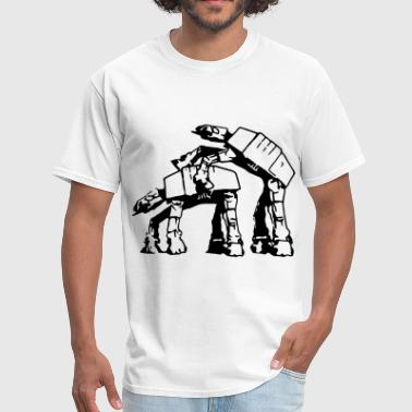 AT mount AT - Men's T-Shirt