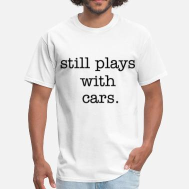 Gear Head Drag Racing Hot Rod Muscle Car stillplays_with_cars_type_stacked - Men's T-Shirt