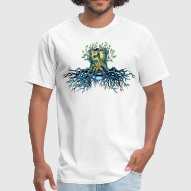 root of tree - Men's T-Shirt