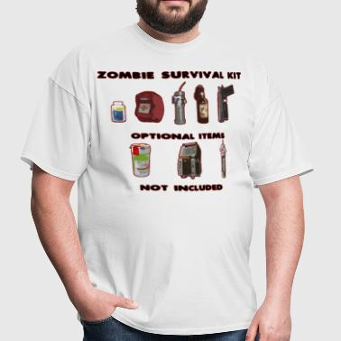 Zombie Survival Kit - Men's T-Shirt