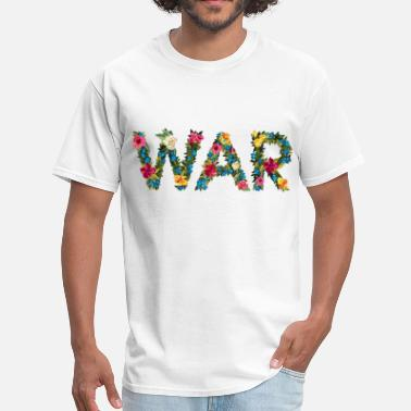 Flower war - Men's T-Shirt