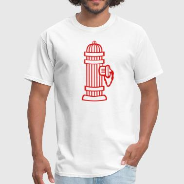 Fire Hydrant 1c - Men's T-Shirt