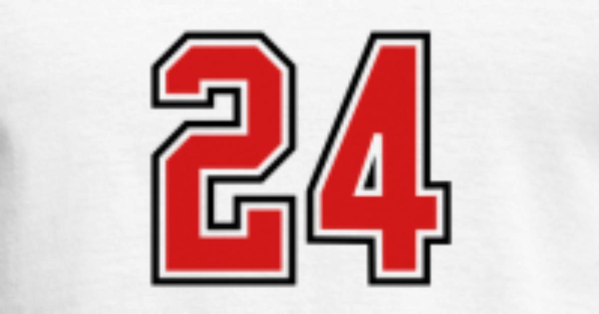 24 Sports Jersey Football Number Men S T Shirt Spreadshirt