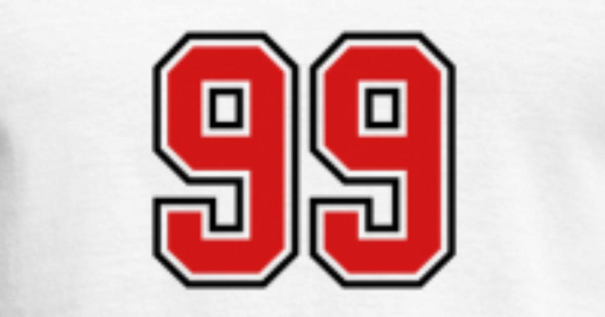 99 Sports Jersey Football Number By Teesontap