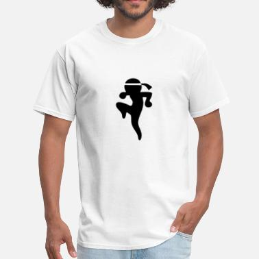 Stickfigure Kids Muay Thai Stickman / Stickfigure - Men's T-Shirt