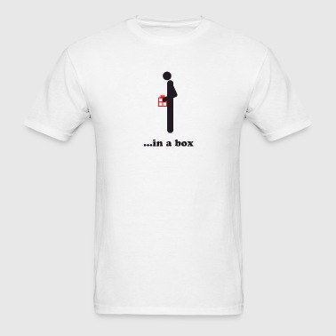 Dick in a box - Men's T-Shirt
