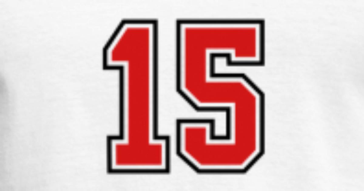 15 Sports Jersey Football Number Men S T Shirt Spreadshirt