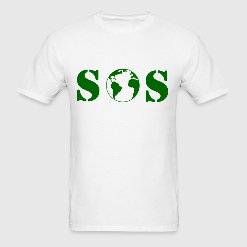 planet_sos - Men's T-Shirt
