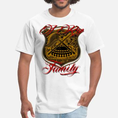 Polynesian I Rep Family anycolor - Men's T-Shirt