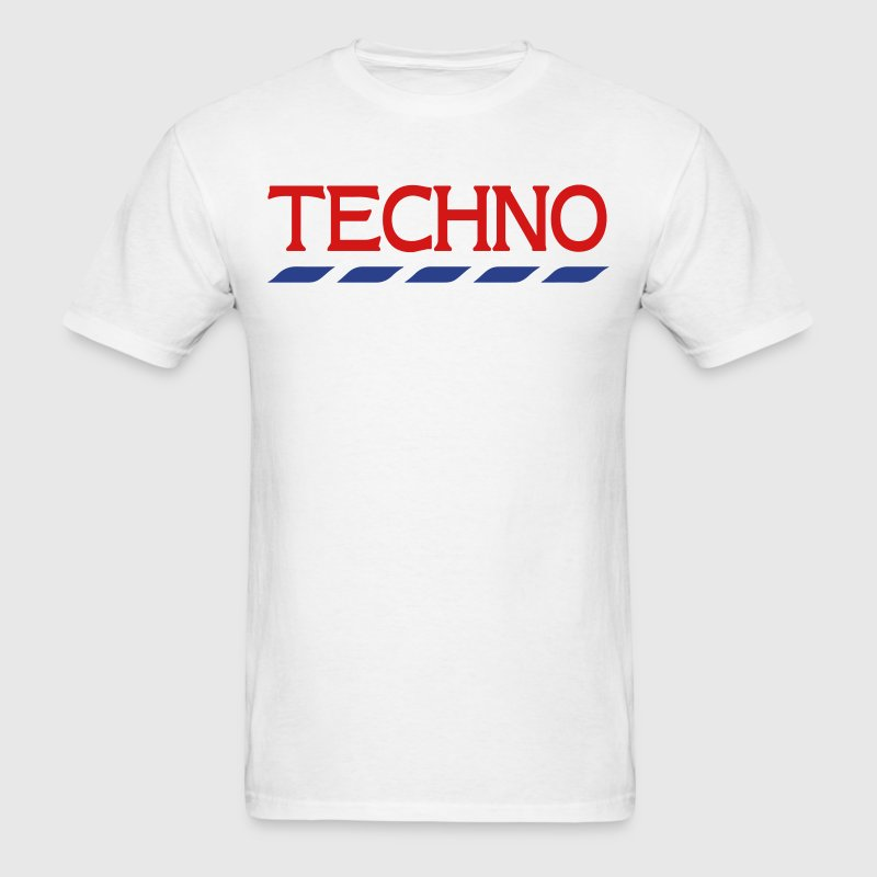 Techno Tesco - Men's T-Shirt