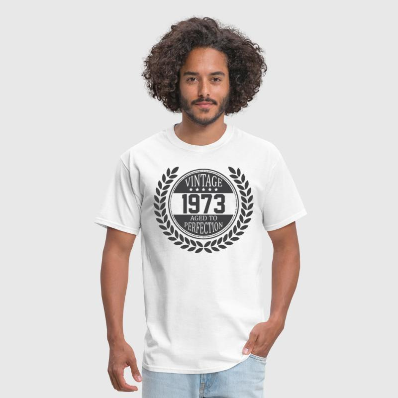 Vintage 1973 Aged To Perfection - Men's T-Shirt
