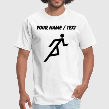 Name Your name or text - Men's T-Shirt
