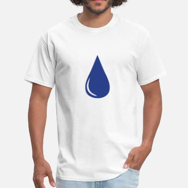 Water Droplets Water Droplet - Men's T-Shirt