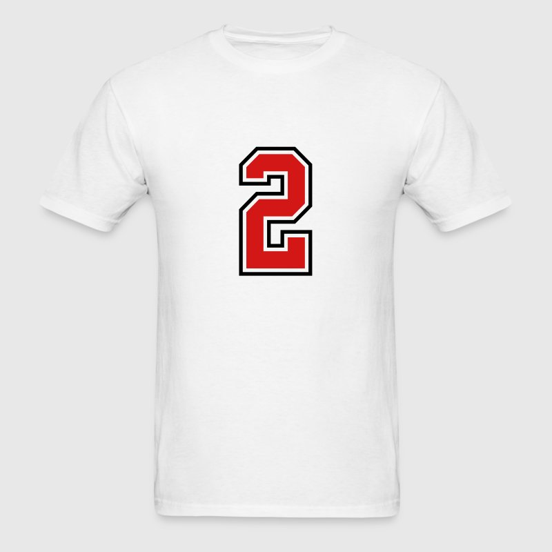 3955797 15268505 sports jersey number 2  - Men's T-Shirt