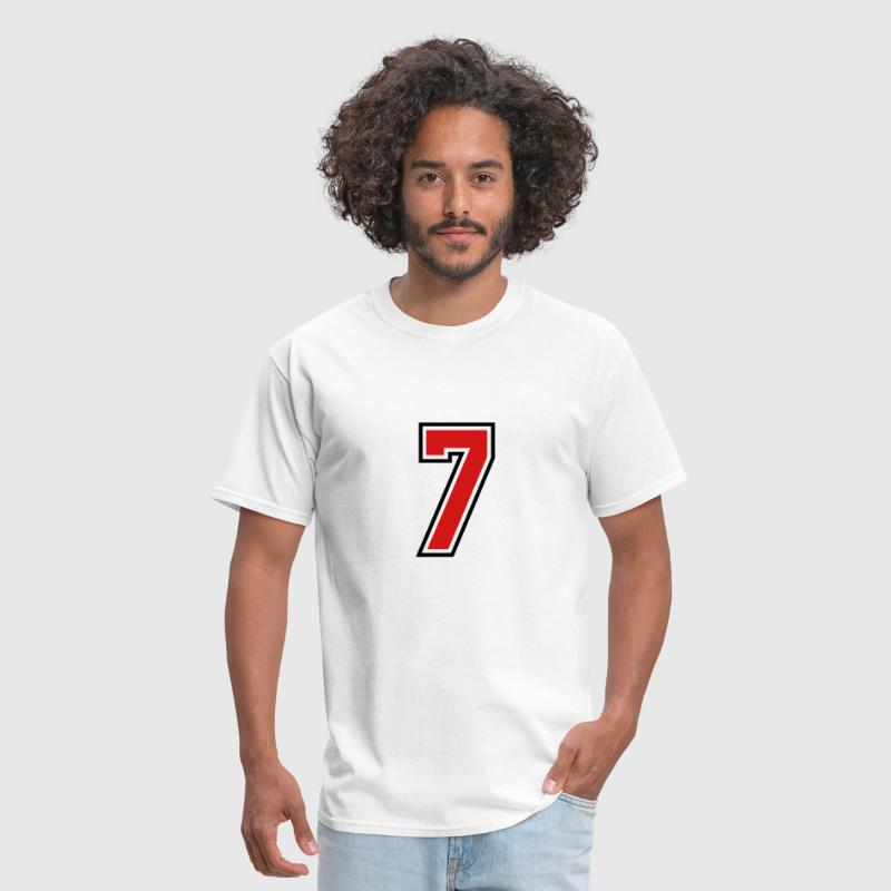 3955797 15268513 sports jersey number 7  - Men's T-Shirt