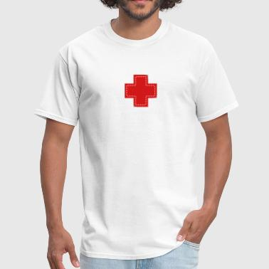 cross patch - Men's T-Shirt
